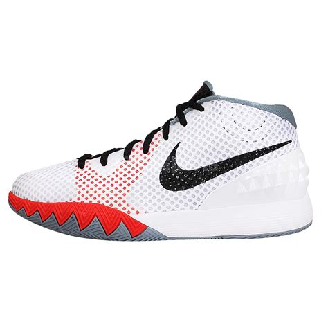 youth basketball sneakers nike kyrie 1 gs kyrie irving white grey black boys