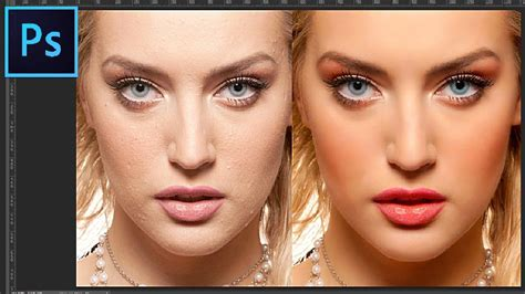 photoshop cs3 skin retouching tutorial photoshop tutorial professional portrait skin retouching