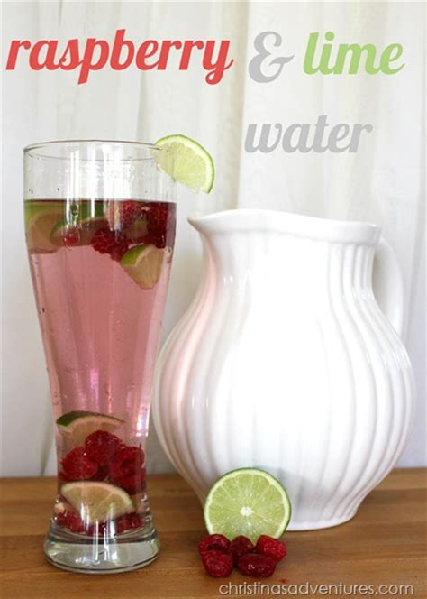 simply made with raspberry lime water 8 recipes for fruit flavored water