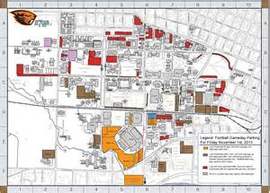 Oregon State University Map by Life Osu