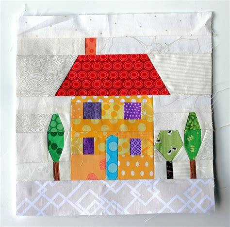 House Quilt Block paper pieces house blocks paper piecing quilts blocks