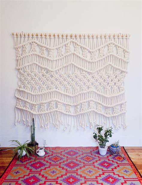 How To Make A Macrame Wall Hanging - best 25 macrame wall hanging patterns ideas on