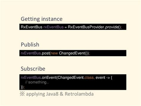 how to design an eventbus java potatotips 26 replace eventbus with rxjava rxandroid