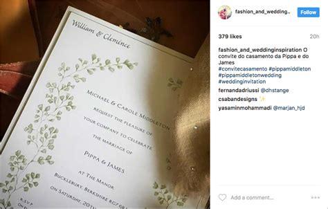 Pippa Middleton Wedding Invitation inside wedding s predictions for pippa middleton s wedding