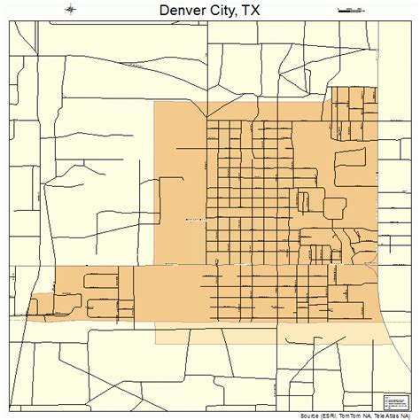 denver city texas map denver city texas map 4819984