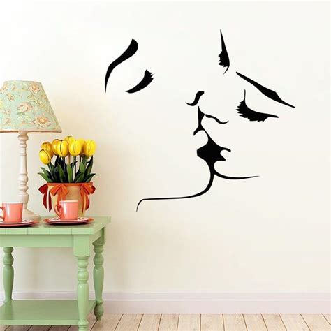 wall decoration at home wall art designs wall art for home couple kiss wall