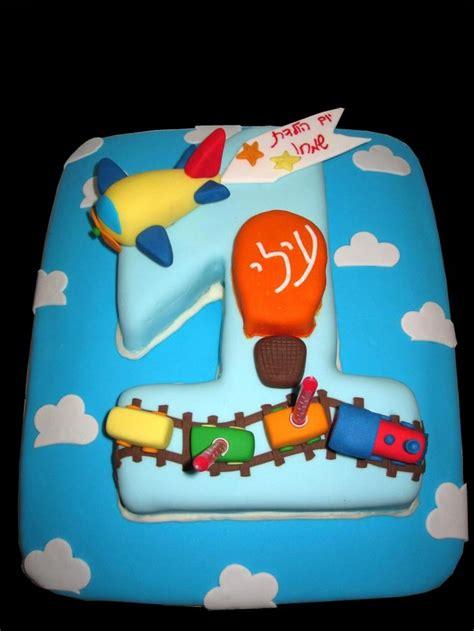 boys  birthday cake boy  birthday cake fondant airplane fondant train fondant hot air