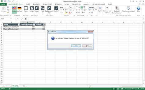 layout excel tabelle eworks referenz excel und powerpoint programmierung