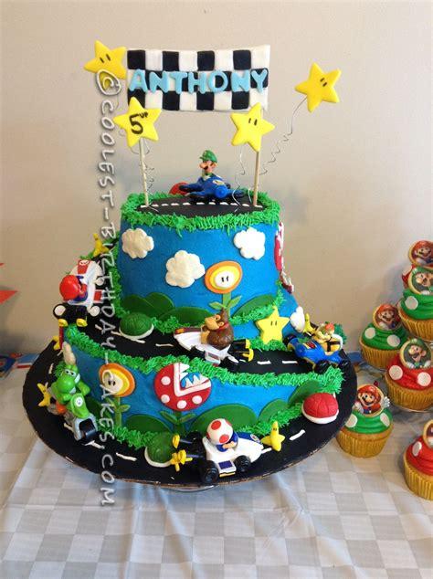 coolest birthday cakes coolest mario kart wii birthday cake mario kart wii and