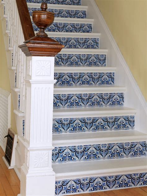 painted wallpaper jones design company staircase makeover how tos diy