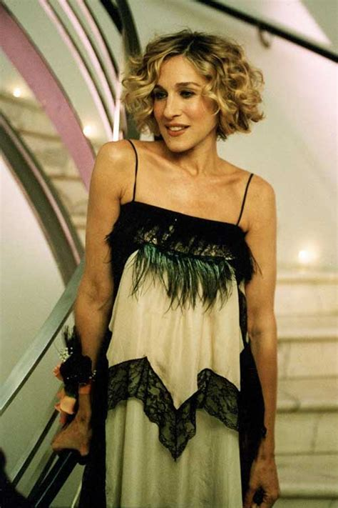 Carrie Bradshaw Hairstyles by Best Bob Cuts For Curly Hair Hairstyles 2017