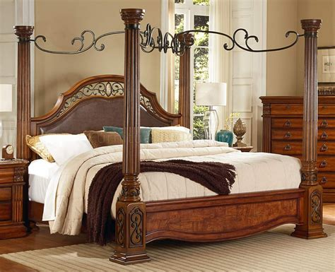 capri marble tops cherry bedroom set rich cherry traditional bedroom w carving details marble