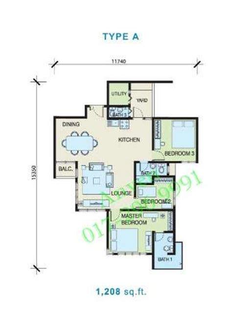 1 desa residence floor plan condominium for sale in desa residency kuchai lama for rm