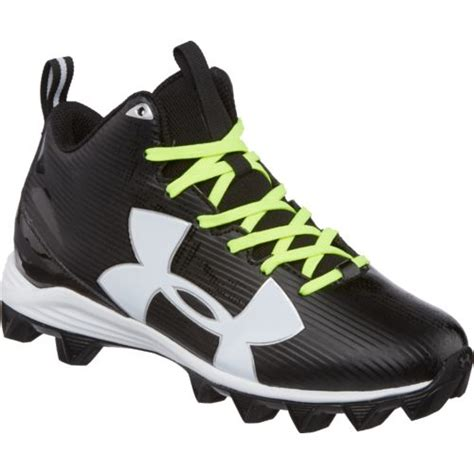 wide football shoes armour boys crusher rm jr wide football cleats