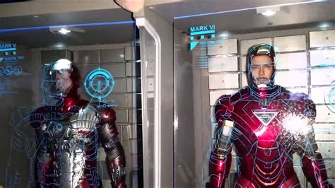 unboxing hot toys iron man hall armor set ds