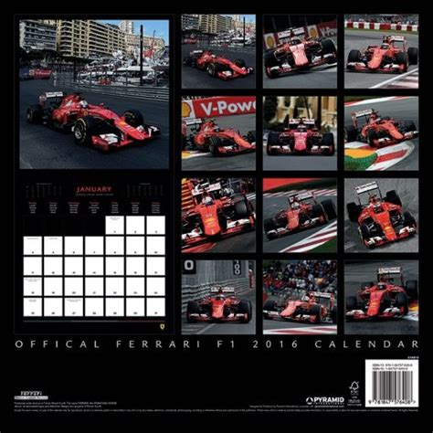 F1 2018 Kalender F1 Calendars 2018 On Europosters