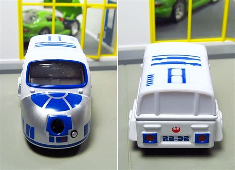 Tomica R2 D2 tomica wars cars r2d2 front back rear