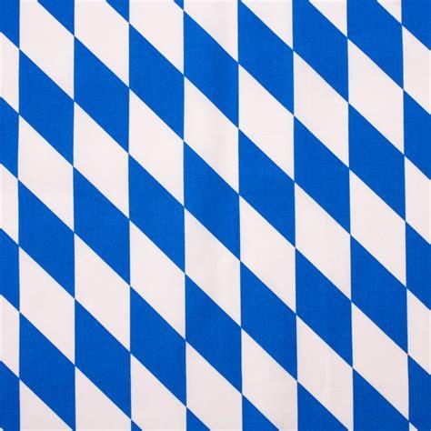 Muster Jagdpachtvertrag Bayern Stoff Meterware Bayern Raute Wei 223 Blau Bw Hans Textil Shop