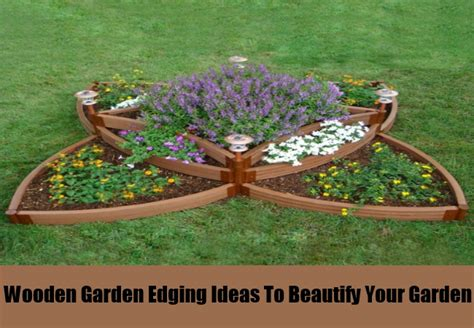 wooden garden edging ideas 4 garden edging ideas to beautify your garden different