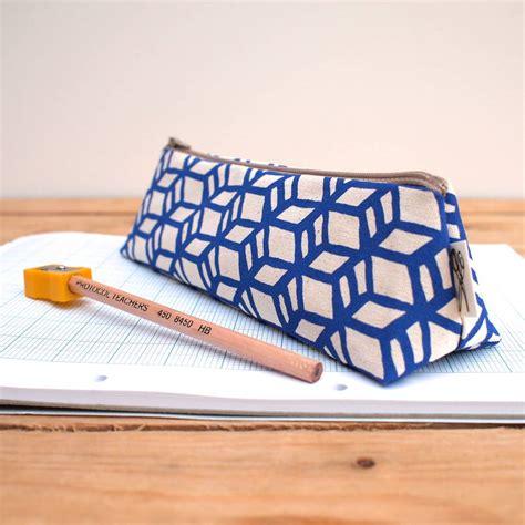 printed pencil bag pencil box print by megan