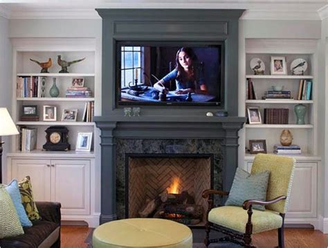 fireplace mantel and bookcase designs ayanahouse
