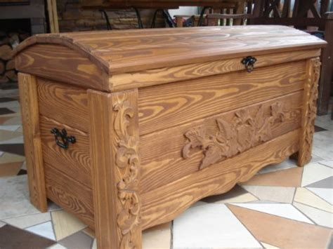 wooden ottoman chest wooden blanket box coffee table trunk vintage chest wooden