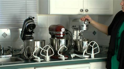 KitchenAid Pro vs. KitchenAid Artisan vs. KitchenAid