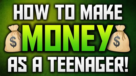 How To Make Money Online As A Teenager Free - how to make money as a teenager make money online fast as a teenager