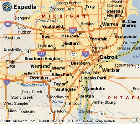 printable detroit area map nice detroit metro map travelquaz pinterest detroit