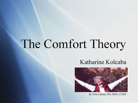 contact comfort theory quotes by katharine kolcaba like success