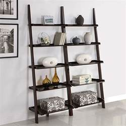 Leaning Bookshelves Ikea by Leaning Bookshelf Elegant Ladder Bookcases Home
