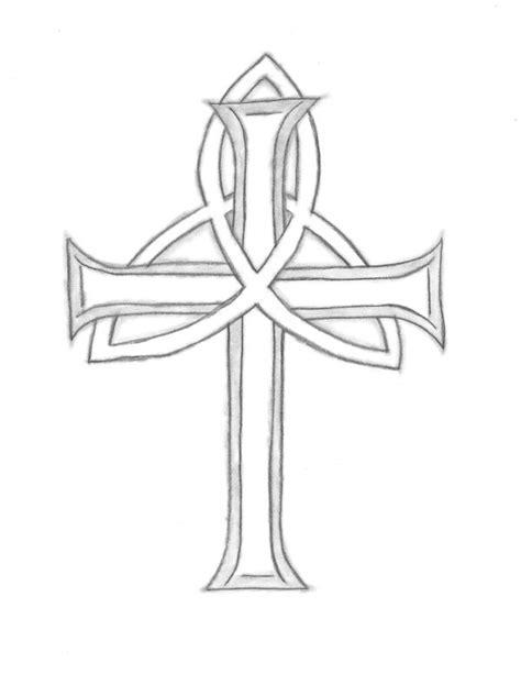 trinity cross tattoo 10 best ideas images on ideas