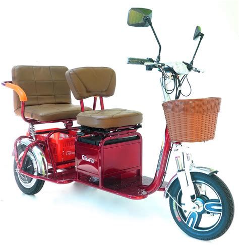 beach wagon electricscooterparts com support new trikaroo 2 person electric mobility scooter pedicab e