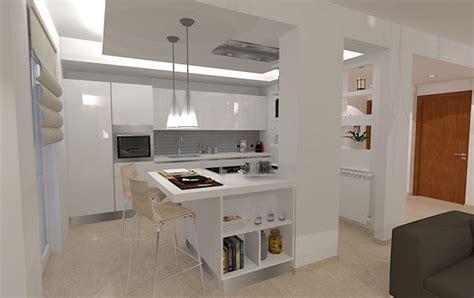 cucina  soggiorno insieme piccoli top cucina leroy