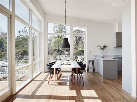 Scandinavian architecture with modern style