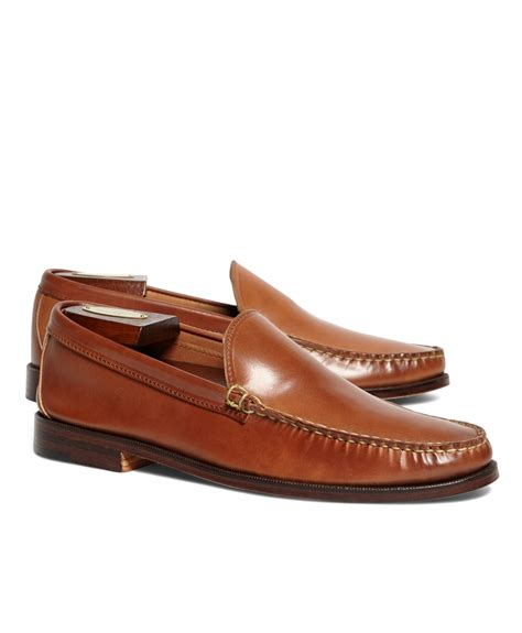 venetian loafer brothers rancourt co cordovan venetian loafers