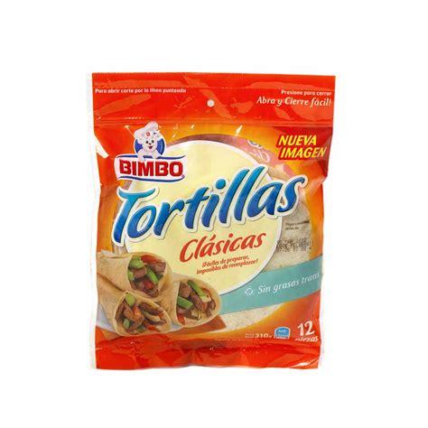 colchones bimbo tortillas bimbo cl 225 sicas bolsa 12un vivanda