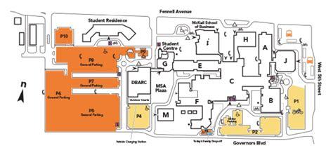 mohawk college floor plan mohawk college cus map my blog