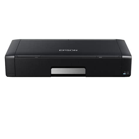 Printer Portable Epson epson workforce wireless portable inkjet printer wf 100