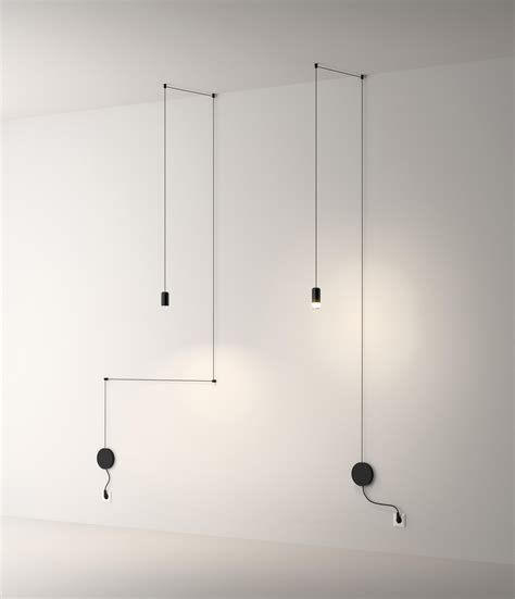 vibia illuminazione wireflow free form pendant l general lighting from