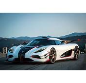 11 White Koenigsegg One 1 Front Side View  Relevant