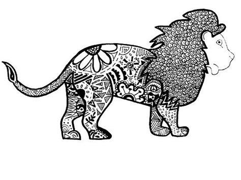 lion zentangle recruitment school spirit pinterest 17 best images about zentangle animals on pinterest