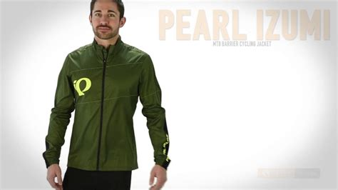 mtb cycling jacket pearl izumi mtb barrier cycling jacket for