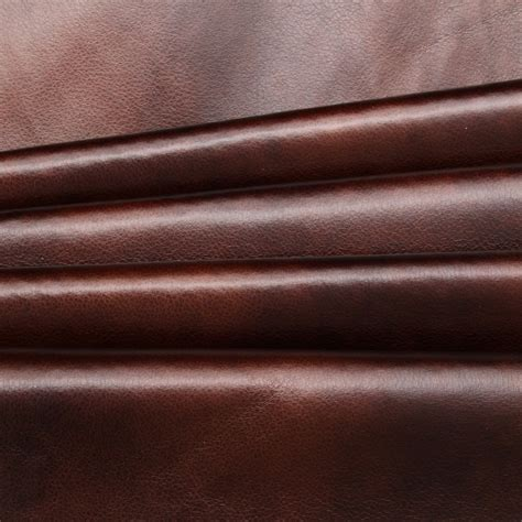 faux leather material for upholstery distressed antique aged brown fire retardant faux leather