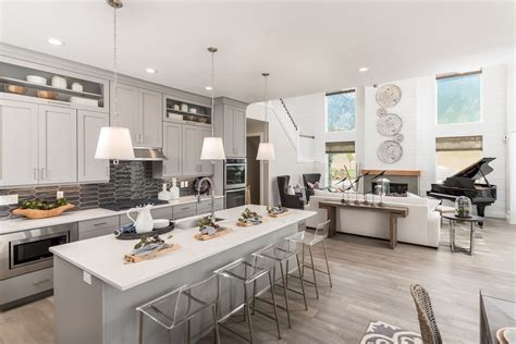 model home design case study lita dirks  interior