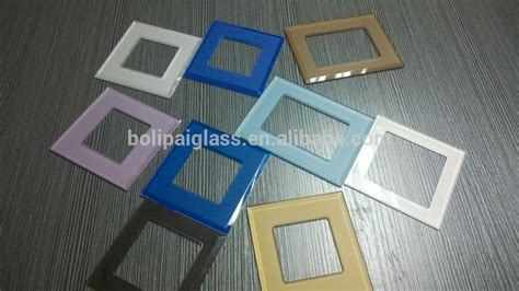 glass light switch covers glass switch plate covers electrical outlet glass covers