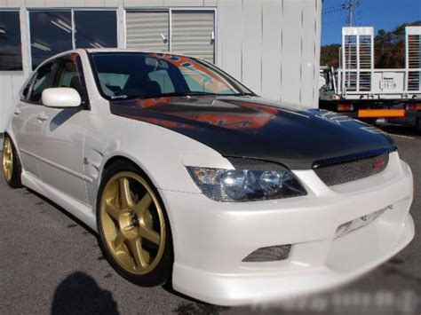 toyota altezza modified modified toyota altezza rs200 sxe10 for sale car