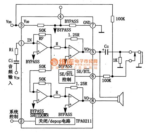 integrated circuit for lifier tpao211 mini single chip audio power lifier integrated circuit lifier circuits audio