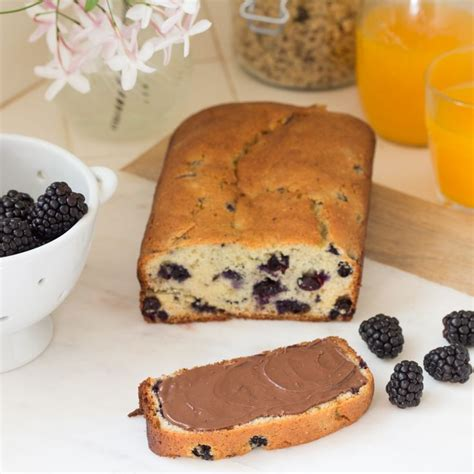 Enjoy Your Toast With A Delicious Spread by No Matter How You Slice It Nutella 174 On Blackberry Bread