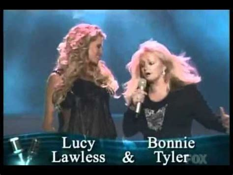 lucy lawless total eclipse of the heart lucy lawless with bonnie tyler week 5 28 september 2006